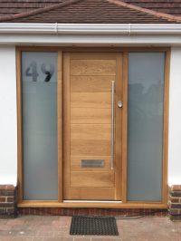Timber Front doors - Medina Joinery