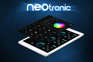 netronic icon set on Tablet
