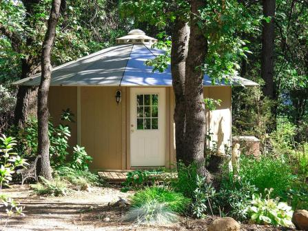 Sustainable yurt