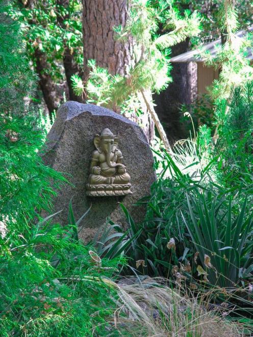 Ganesh in the garden
