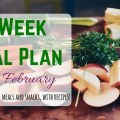 Frugal Meal Plan for Late February