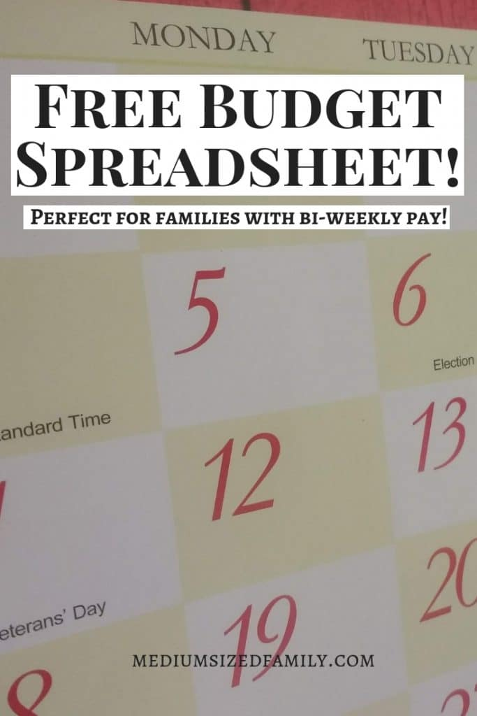 Free Bi-Weekly Budget Template (Watch Out For These 3 Mistakes That