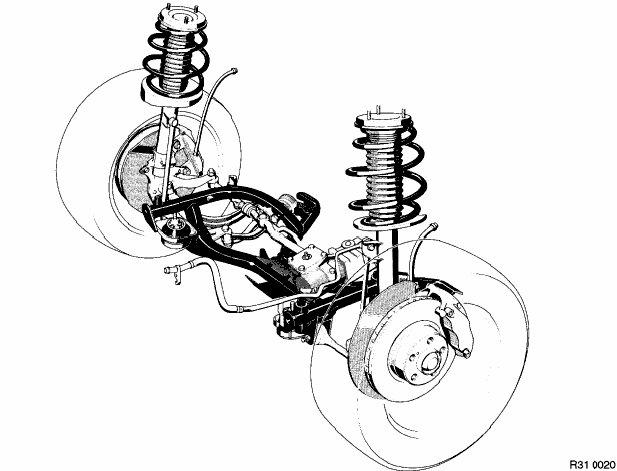bmw e38 front suspension diagram