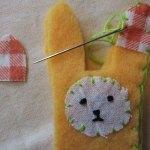 blanket stitch around