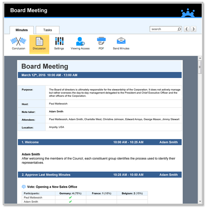 Streamline Meeting Minutes