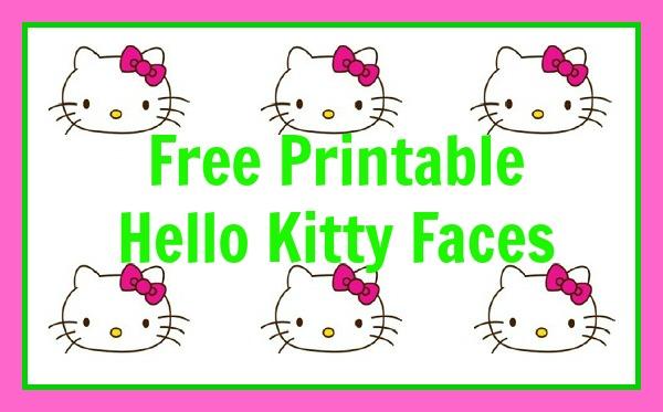 Hello Kitty Garden Party (Free Printable too!) - Meet Penny