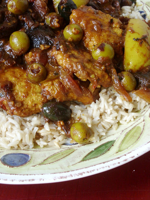 Vegan Chicken Tagine