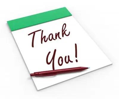 Modelos de carta de agradecimiento a proveedor Formato de carta
