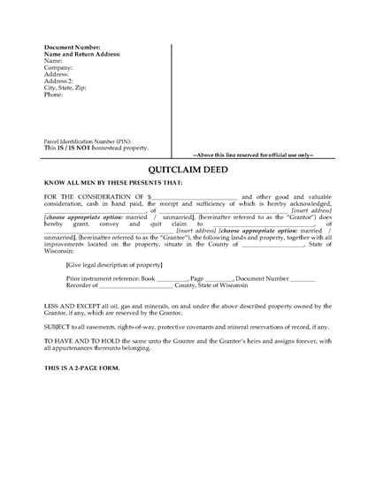 Quitclaim Deed Form Massachusetts | Best Resume Format For It