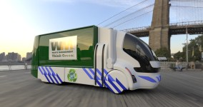 Electric Waste Truck