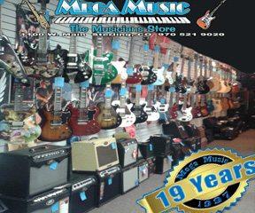 Website 19 year guitar wall