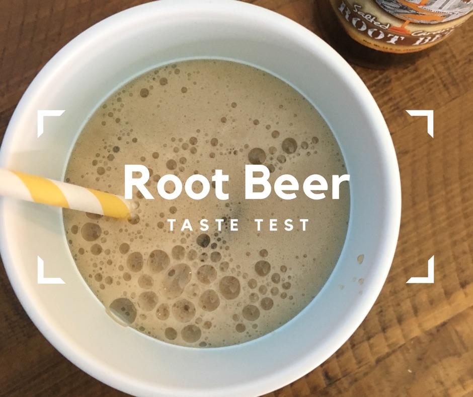 Craft Root Beer Taste Test