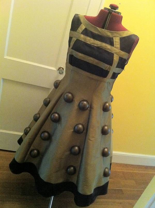 Beautiful Dalek dress