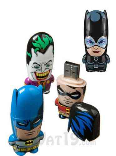 Its a Flash Drive Extravaganza!   Mimobots Batman USB flash drive421 372x500