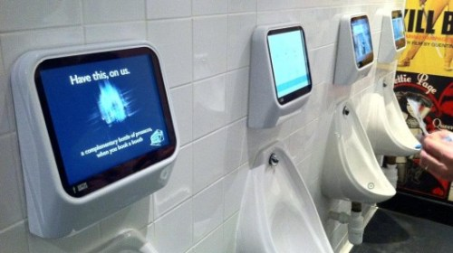 Urinal Based Video Games? Now I HAVE Seen Everything!   captivemedia 500x280
