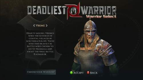 MEGATech Reviews   Deadliest Warrior: Ancient Combat for Xbox 360   deadliest 2 500x281