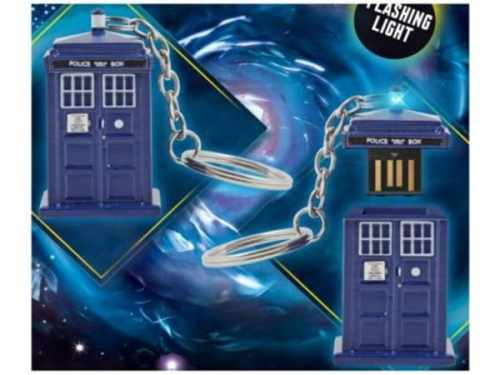 MEGATech Showcase: Still More Flash Drives   TARDIS 4GB USB Storage Memory Stick 500x375