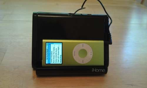 MEGATech Reviews: iHome IHM2BC iPod Speaker Dock   IMAG2011 500x299