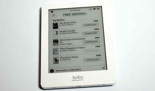 MEGATech Reviews   Kobo Glo eReader with ComfortLight    koboglo 9 500x295