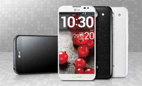 The LG Optimus G Pro Enters the Phablet Race   LG Optimus G Pro 500x303
