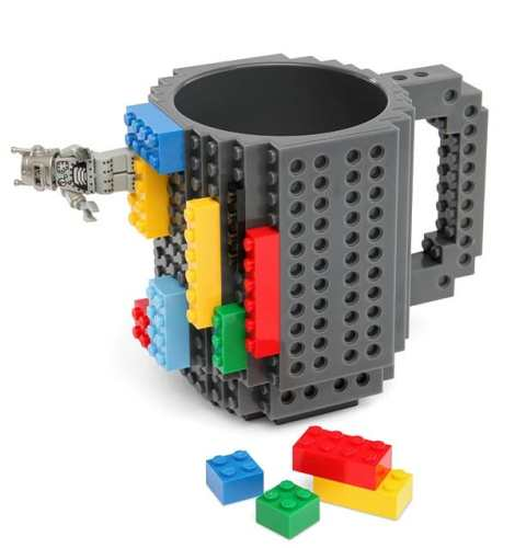 MEGATech Showcase: Theres a LEGO For Everyone   ee3c build on brick mug 470x500