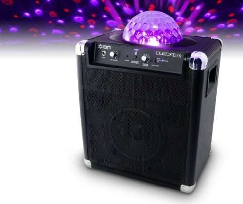 Ion Party Rocker Is Silly Good Fun   Ion Party Rocker portable speaker system 500x420
