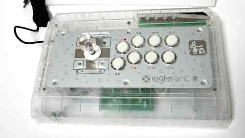 MEGATech Reviews   Eightarc Fusion Synthesis Professional FightStick for Xbox 360, PS3 and PC   eightarc fusion 4 500x281
