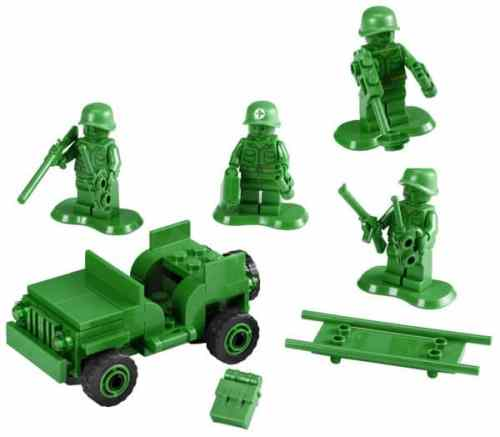 MEGATechNews Showcase   Even More LEGO Creations Including a Kraken Tearing Apart an Imperial Super Star Destroyer   LEGO Toy Story Army Men 500x437