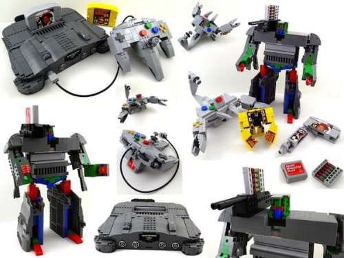 MEGATech Showcase: LEGO Creations and Playsets   LEGOtformersfull 500x375