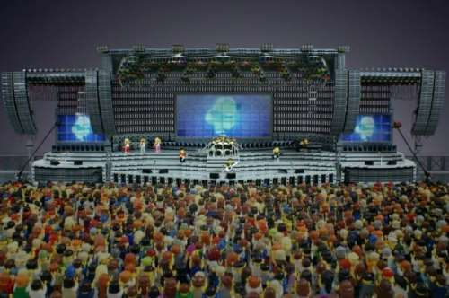 MEGATech Showcase: LEGO Creations and Playsets   lego concert 20 620x412 500x332