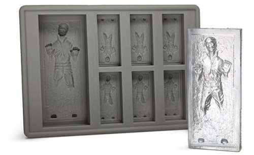 MEGATech Showcase: Chill Out With Creative Ice   han solo ice cube tray 500x305