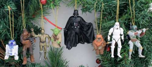 MEGATech Showcase: Last Minute Christmas Ideas   Disneys Star Wars Holiday Ornament Set 500x223