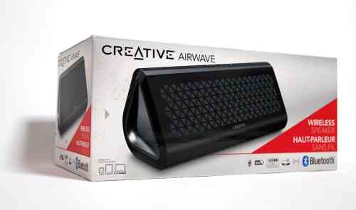 MEGATech Reviews   Creative Airwave Wireless Bluetooth Speaker   airwave 1 500x296