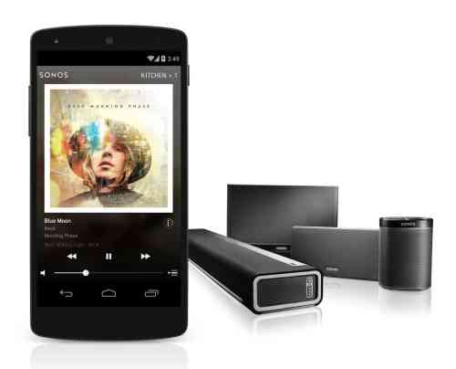 Sonos Launching All New App; Android in Beta, iOS Coming in Spring   sonos 500x404