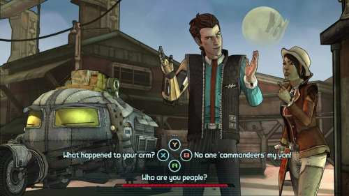 First Tales from the Borderlands Screenshots from Telltale Games   Tales RhysFiona 500x281