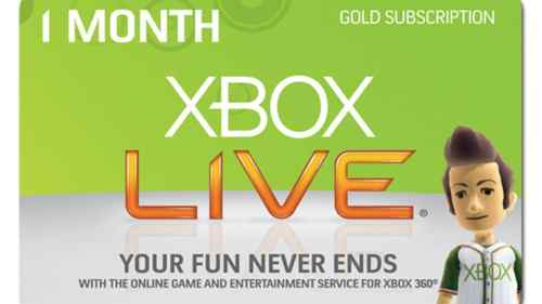 Xbox Live Silver Users Can Watch Netflix, Hulu, and Other Online Apps Next Month   xbox live gold 500x281