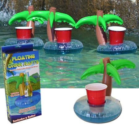 MEGATech Showcase: Summertime Beat the Heat Gear   palm tree raft