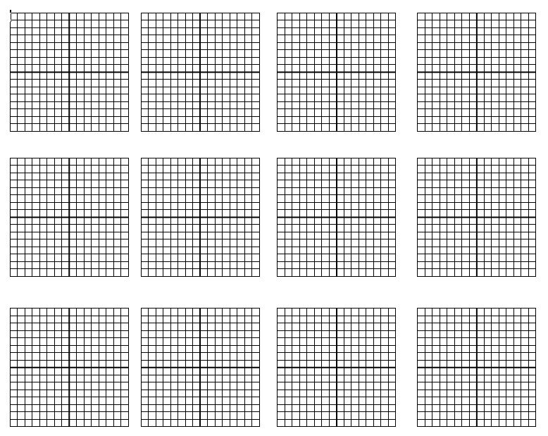 linear equations graph paper math function graph 1 four quadrant - graph paper template print