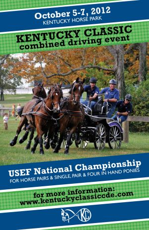 Poster for USEF National Championships