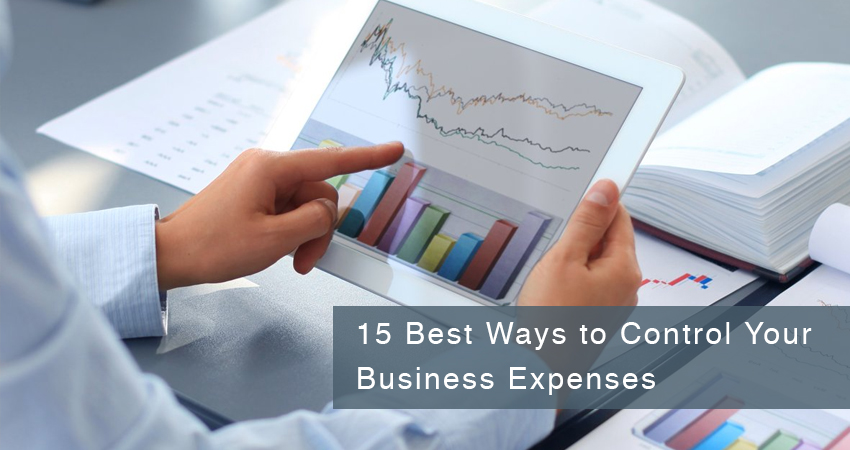 15 Best Ways to Control Your Business Expenses - By Mehul Panchal