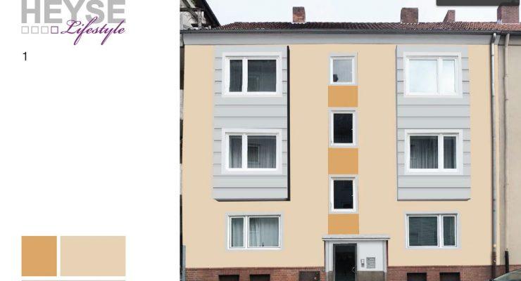 Fassade streichen Ideen Mein-Malerde - fassade streichen