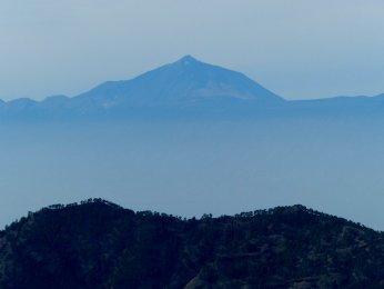 Blick auf den Teide auf Teneriffa