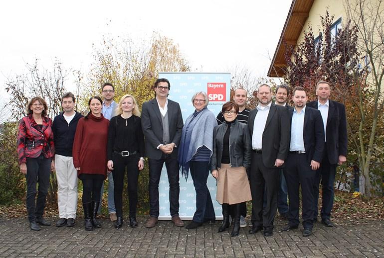 UB-Parteitag Vorstandmittglieder