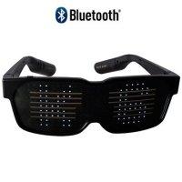Ksix Pixi Bluetooth LED Brille - iOS, Android