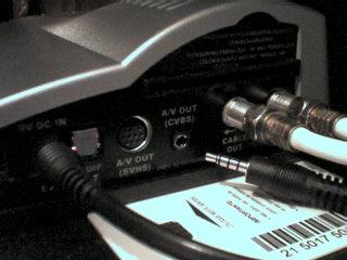 Painel traseiro do Thomson DCI 1000