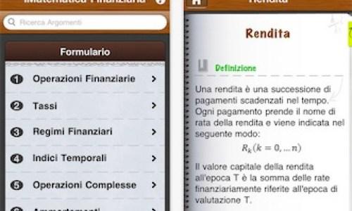 iMatematica Finanziaria AppStore