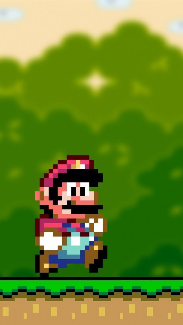 Mario Iphone Wallpaper Hd Sfondi Per Iphone 5 Immagini Dedicate A Super Mario Bros