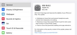 Apple rilascia iOS 10.0.2 ecco changelog e link download