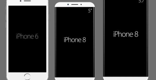 Ecco come potrebbe essere iPhone 8 con display edge to edge