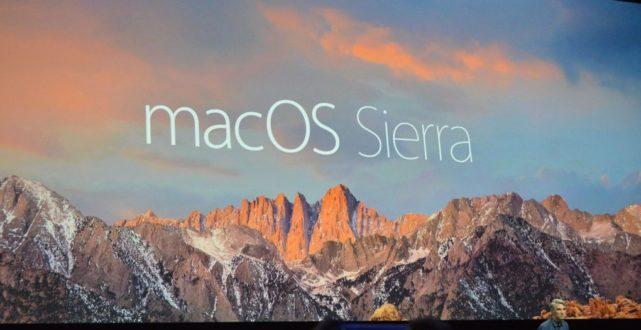 Apple rilascia la versione finale di MacOs Sierra 10.12.1 [download]